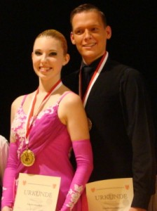 Aufstieg in die B-Klasse geschafft: Eric und Julia