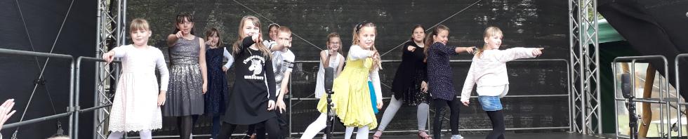 Tanztraining für Kinder